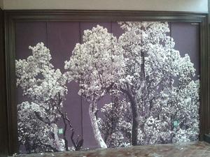 喷绘公司--化纤油画布喷绘